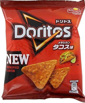 Frito-Lay Doritos sabor mexicano taco 60gX12 bolsas