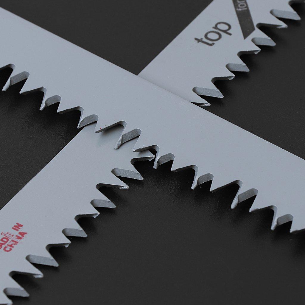 Besttse S/äbels/ägebl/ätter S1531L 24,1 cm 240 mm zum Schneiden von Metall Holz 2 St/ück