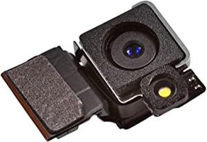 Johncase New OEM 8MP Autofocus Main Rear Back Camera w/Led Flash Module Cam Flex Cable Replacement Part Compatible for iPhone 4s (All Carriers)