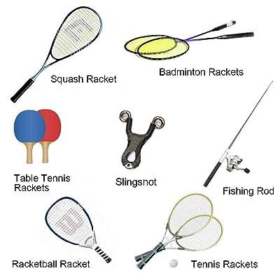 6 PCS Anti Slip Badminton Grip Overgrip for Squash Pickleball Tennis Racket US