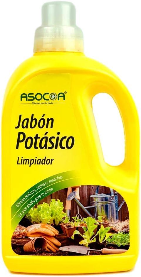ASOCOA - Jabón Potásico Concentrado 1 L - Solución de Sales potásicas.