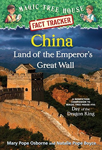 Download By Mary Pope Osborne Magic Tree House Fact Tracker #31: China: Land of the Emperor's Great Wall: A Nonfiction Companion t [Library Binding] PDF