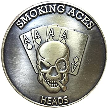 Mistakes Novelty Heads Tails Good Luck Token Coin US SELLER FAST SHIPPING