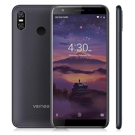 Vernee M3 Dual SIM Móvil Libre 5.5 Pulgadas Smartphone 4G, 3300mAh, 3GB+32GB