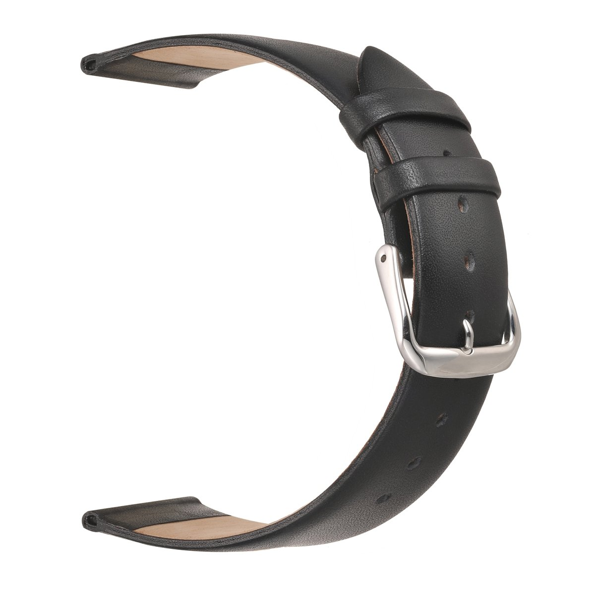 Classical Ultra Thin Leather Watch Bands EACHE Genuine Leather Watch Straps for Women 12mm 14mm 16mm 18mm 20mm