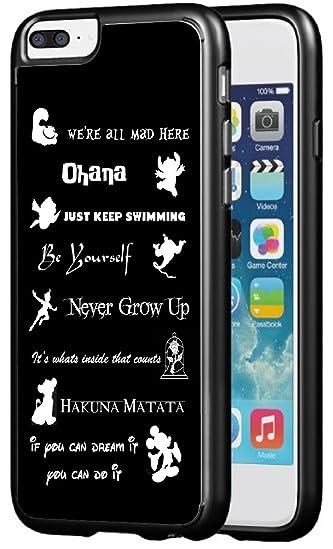 Amazoncom Walt Disney Quotes Rubber Phone Case For Iphone 7 Plus