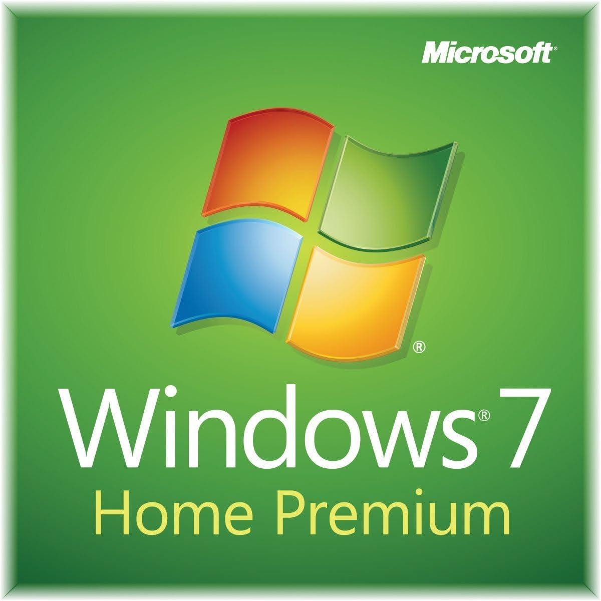 Windows 7 Home Premium SP1 32bit (OEM) System Builder DVD 1 Pack (For Renewed PC Installation)