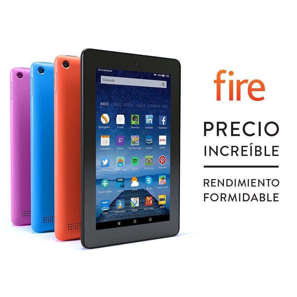 Tablet Fire pantalla de  cm Wi Fi GB Negro incluye ofertas