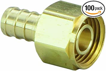 43344 Viega PureFlow Crimp Lav Adapter Polyalloy, 10//Each