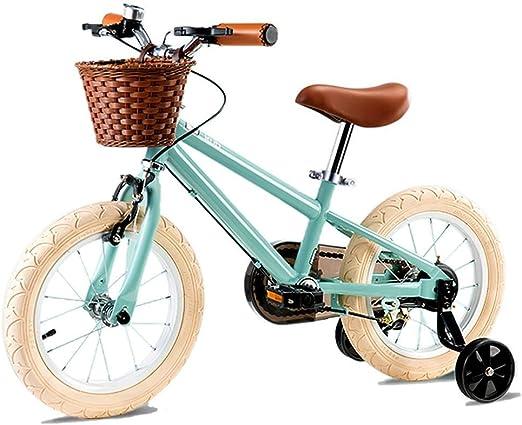 AJZGF Bicicletas niños Bicicleta Infantil Niña de 3-6 años ...