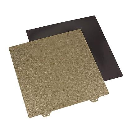 Aibecy 220mm Impresora 3D Accesorios de cama de doble capa Textura ...