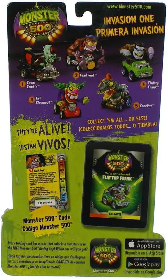 Amazon.com: Monster 500 Trading Card & Small Car Figure Lead ...