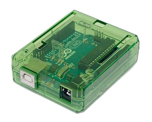 6 opinioni per Trasparente Custodia (verde) per Arduino UNO