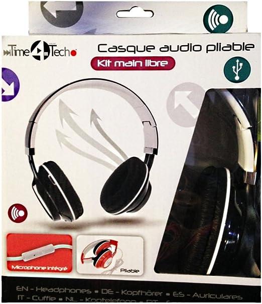 Auricular con micrófono plegable con Micro P3 PC Tablet Smartphone ...