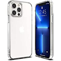 T Tersely Case Cover for iPhone 13 Pro Max 6.7-Inch, Slim Shockproof Bumper Cover Anti-Scratch Crystal Clear Case for…