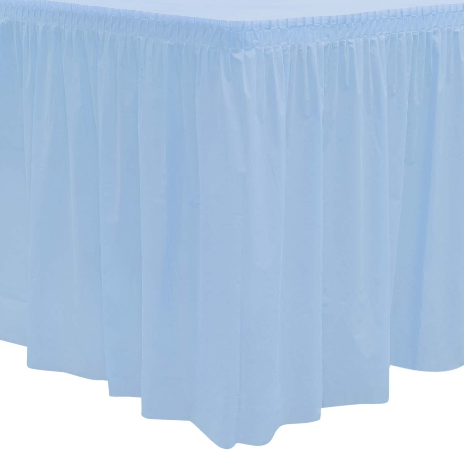 Royal Purple Case of 6 Party Essentials 2908 Plastic Table Skirt 96 Length x 29 Width