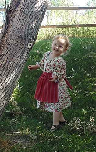 Baby 2-3 T Folk dress and Apron by Fru Fru and Feathers Costumes & Gifts