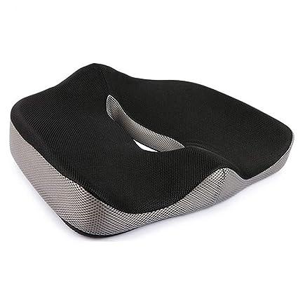Amazon.com: Cojín ortopédico de apoyo de coco con esponja de ...