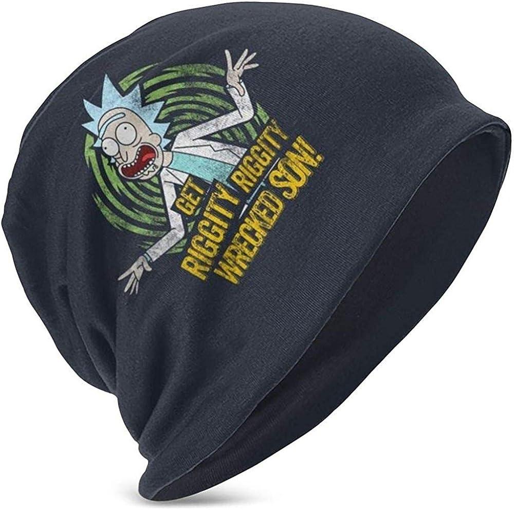 Marlon Nancy Wonderful Bonnet tricot/é avec Broderie Rick Morty