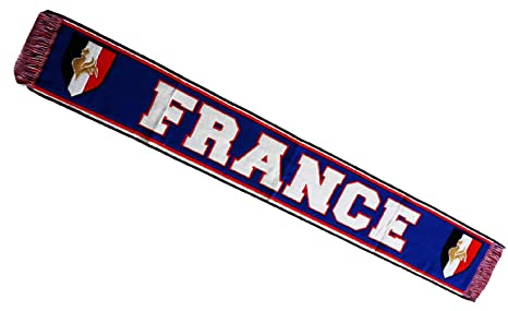 56c8b5179fa2 Echarpe supporter - FRANCE - Collection supporter football - Taille 138 cm