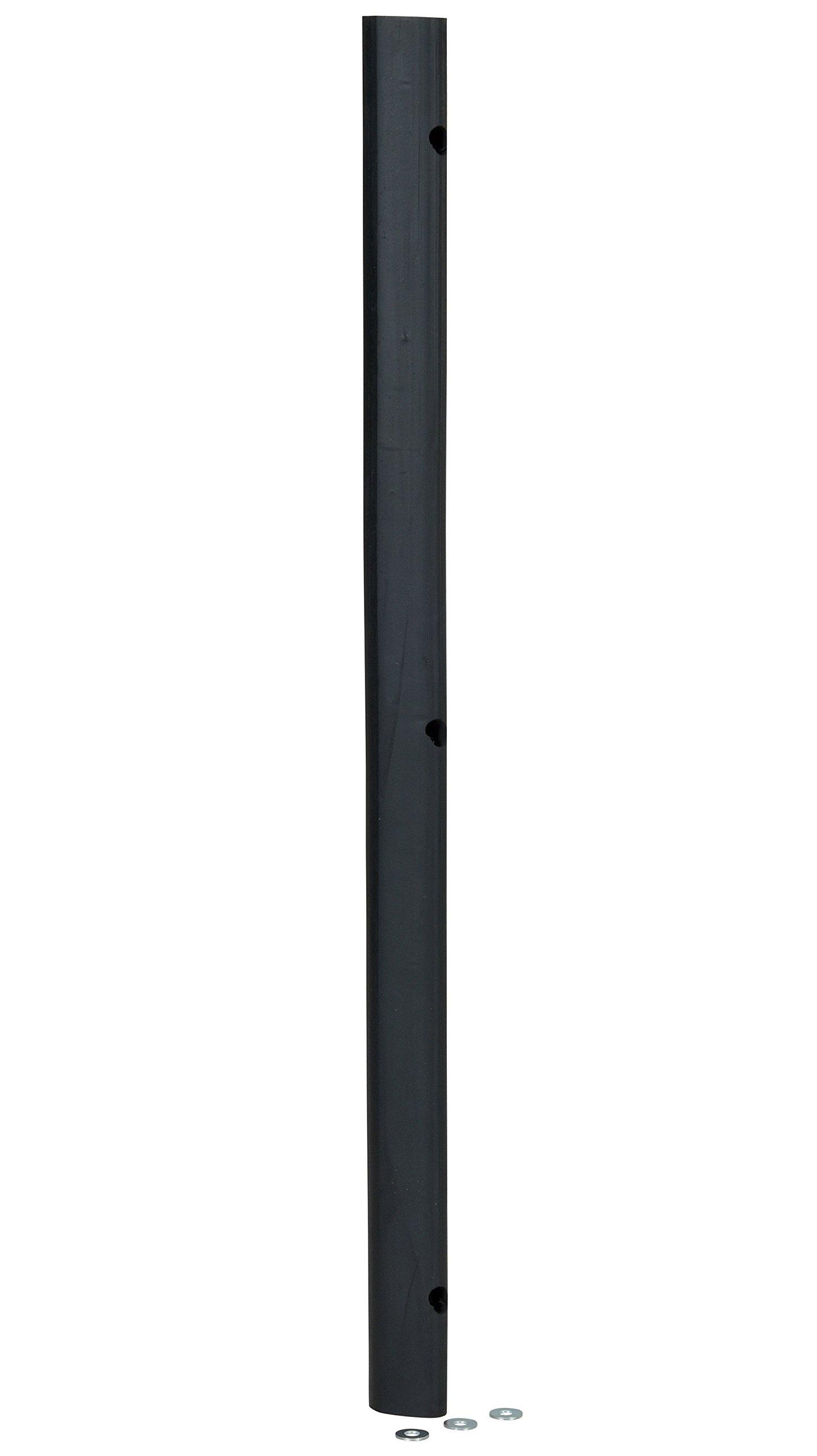 Vestil M-2-36 Rubber Extruded Bumper, 36'' Length, 2'' Width, 1-3/4'' Depth