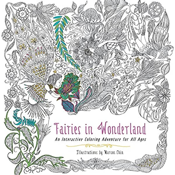 - Fairies In Wonderland: An Interactive Coloring Adventure For All Ages  (9780062419989): Chin, Marcos: Books - Amazon.com