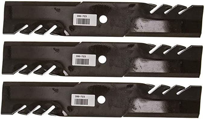 "3PK Oregon 396-735 G6 Gator Blades for 48/"" John Deere AM104489 M73509 PT11136"