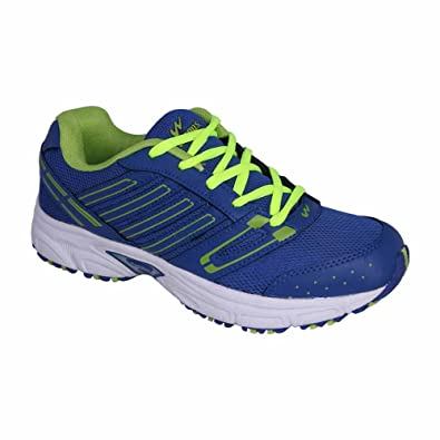 a26fd75bab Action Campus 3G181 Royal Blue and Pista Green Colour Running Shoes ...