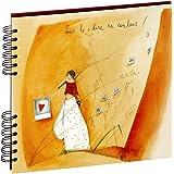 Panodia 271279 Artist Album Photos Traditionnel 40 Pages 80 Vues Cœur Papier Multicolore 3 x 25,7 x 23,2 cm