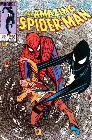 The Amazing Spider-Man Vol. 1 No. 258 (The Sinister Secrests of Spider-Mans New Costume!)