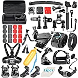 VanteexPro 60-in-1 Accessories Bundle Kit for Gopro Hero 8 7 6 5 4 3+ 3 2 1 Camera Accessories Combo Kit