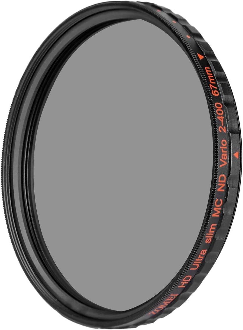 ZoMei Ultra Slim HD 18 Layer Super Multi-Coated Schott Glass PRO Density Neutral Gray ND1000 Lens Filter 52mm
