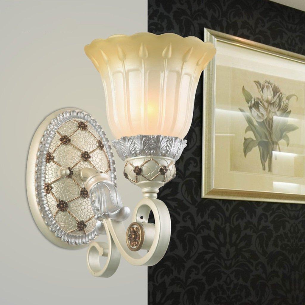 Great St. D G F LED-Einzelkopf-Wand-Lampen-Schlafzimmer-Nachttischlampen-einfache Treppenhaus-Kanal-Retro- Glaswand-Lampe