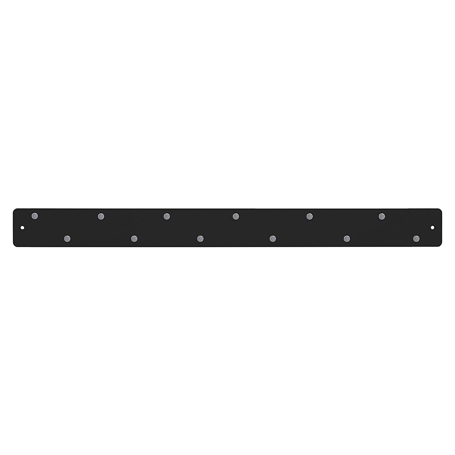 Three by Three Magnetic Strip Bulletin Board, Black Three By Three Seattle 31160