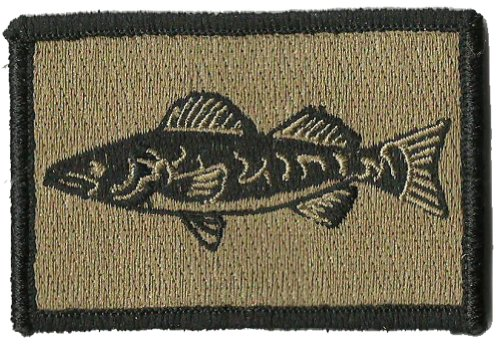 Tactical Wildlife Walleye Patch - Coyote Tan