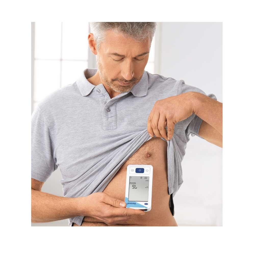 Hartmann veroval EKG dispositivo y tensiómetro Impacto infarto ritmo cardíaco, móvil, 2 en 1 nevera dispositivo: Amazon.es: Salud y cuidado personal
