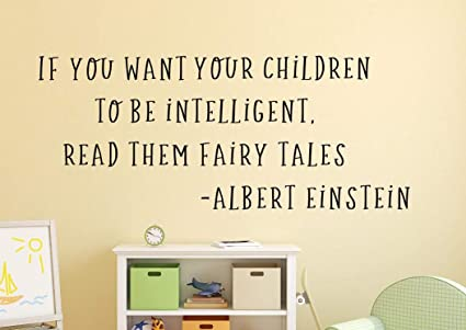 Amazoncom Littledollz Fairy Tale Wall Decal Fairy Tale Quote