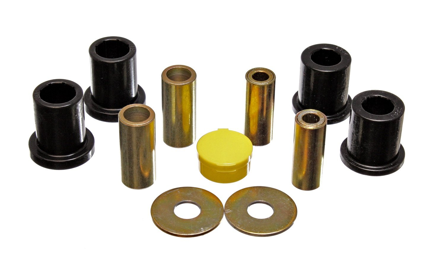 Energy Suspension 4.3152G Front Control Arm Bushing Set for Ford Escort