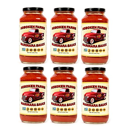 Hoboken Farms Big Red Gourmet Marinara Sauce (6 Pack) by Hoboken Farms