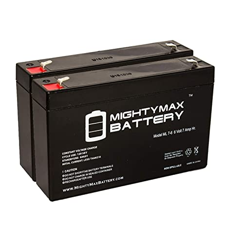 Mighty Max Battery 6V 7Ah Battery for Gallagher S17 Solar Fence Charger on