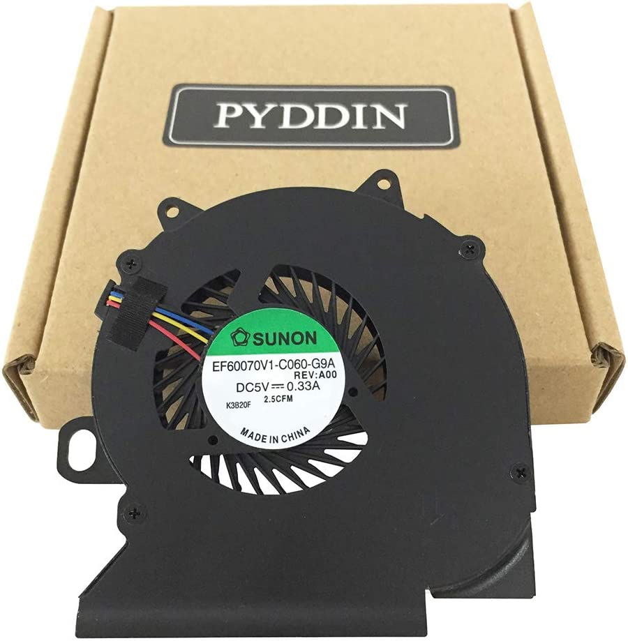 PYDDIN Laptop CPU Cooling Fan Cooler for Dell Latitude E6330 E6330S E6430S P/N: EF60070V1-C060-G9A 9VGM7 09VGM7