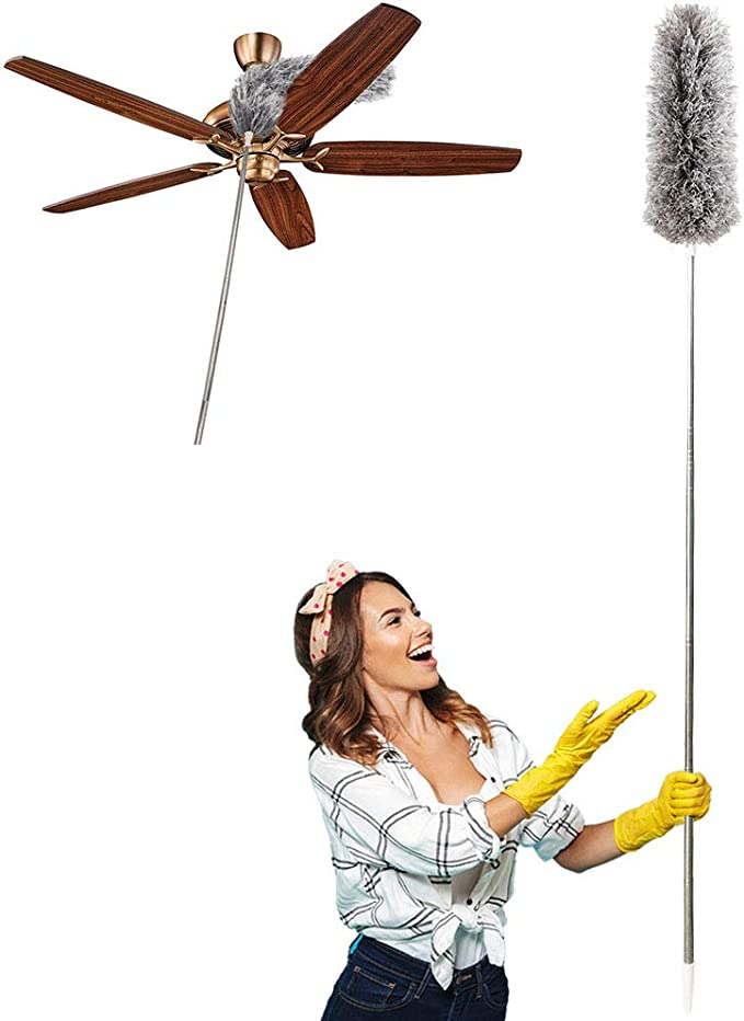 Plumero para limpieza extensible, Hainabc extensible, llega hasta ...