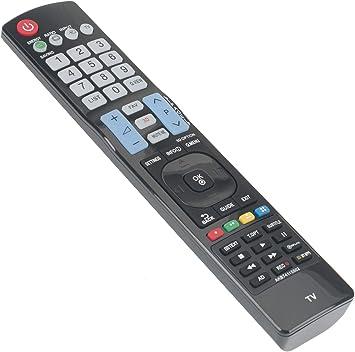 ALLIMITY AKB74115502 Mando a Distancia reemplazado por LG Smart TV 42LS3450 42LS5600 42LE5800 42LE5810 42LE7300 47LA640V 47LA6608 47LA660S 47LW451C 47LW451CZB 50PC52ZD 50PC55 50PC55AEU 50PC56: Amazon.es: Electrónica