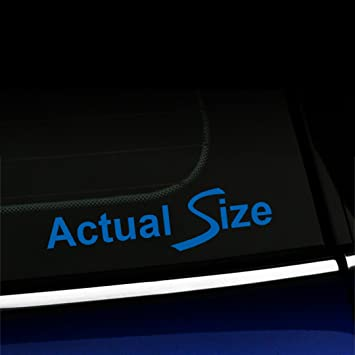 PICK COLOR SIZE Actual Size Vinyl Decal Window Glass Sticker Mini Cooper
