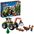 LEGO City Great Vehicles Forest Tractor 60181 Building Kit (174 Piece)