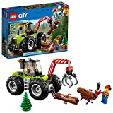 Lego City Great Vehicles 6209750 Forest Tractor 60181 Building Kit (174 Piece)