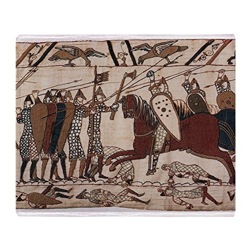 CafePress Bayeux Tapestry Soft Fleece Throw Blanket, 50