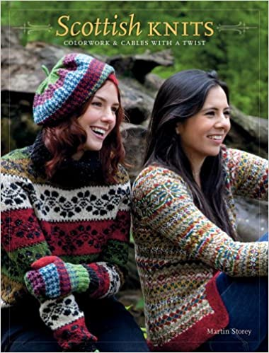 Scottish Knits Colorwork Cables With A Twist Martin Storey