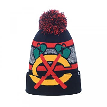Fanartikel Chicago Blackhawks Mammoth Bobble Knit Weitere Wintersportarten