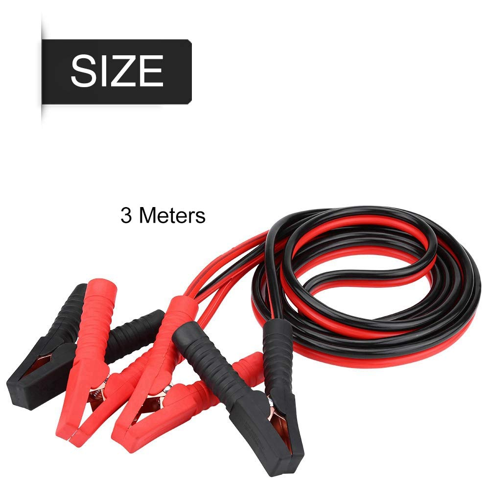 Akozon Battery Jumper Cable 3 Meters 2200A Car Power Charging Booster Cable Cavi di emergenza della batteria